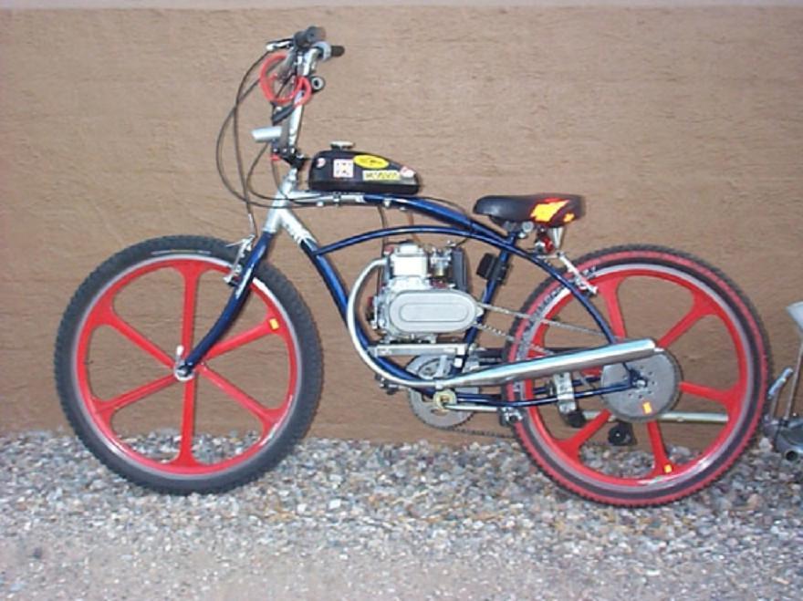 Motorized 4 Stroke Bike 7